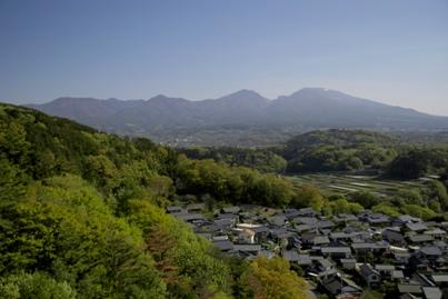 北側は浅間山