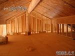 屋根裏部屋とDSパネル