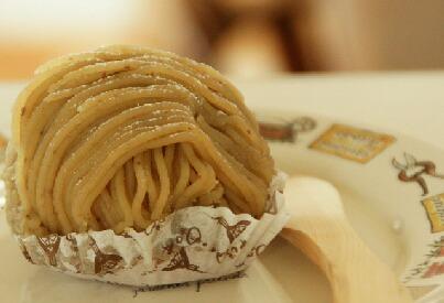 栗の木テラスのケーキ