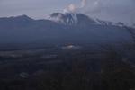 宵のうちの浅間山