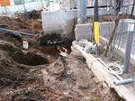水道管の移動
