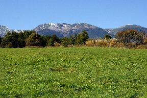 八ヶ岳も初冠雪でした