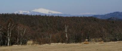 浅間山も見えます