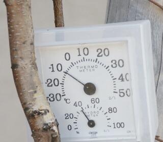 マイナス10℃だよー