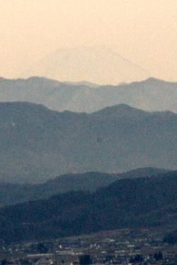 これでも富士山です