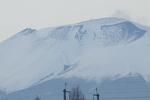 中軽井沢から見た前掛山
