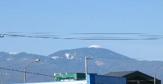 蓼科山の山頂です